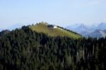 Sicht vom Gnipen auf Wildspitz